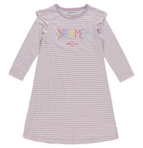 manguun Nachthemd, Rüschen, reine Baumwolle, für Mädchen