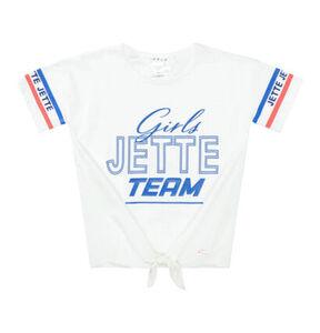 Jette T-Shirt, Front-Print, für Mädchen