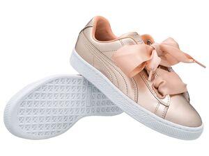 Puma Damen Sneaker Basket Heart Luxe