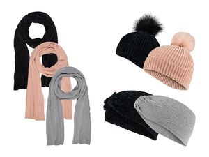 ESMARA® Mütze/Stirnband/Schal