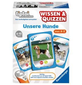 Ravensburger tiptoi - Wissen und Quizzen: Unsere Hunde