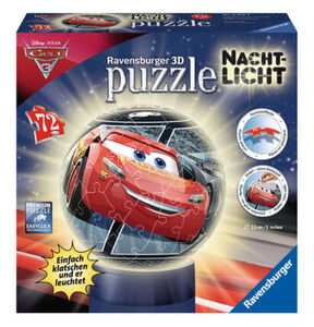 "Ravensburger 3D Puzzle Ball ""Nachtlicht"", 72 Teile"