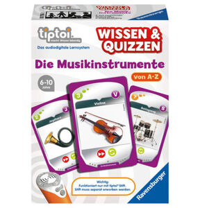 Ravensburger tiptoi - Wissen und Quizzen: Die Musikinstrumente