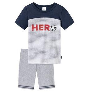 Schiesser Schlafanzug, kurz, Fußball, für Jungen