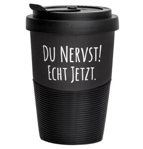 "COFFEE-TO-GO Becher ""Du nervst!"""