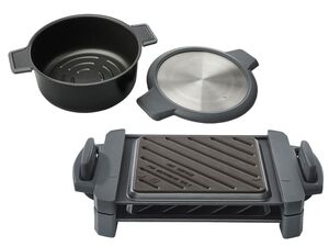 ERNESTO® Mikrowellen Topf/Grill