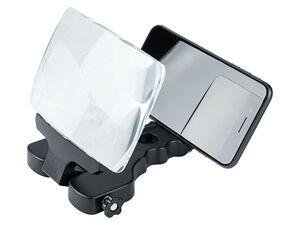 SILVERCREST® Lupe Smartphone mit Transporttasche und Reinigungstusch