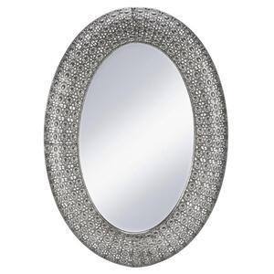 Spiegel in Silber antik ca. 65/92/4,5 cm 'Chime'