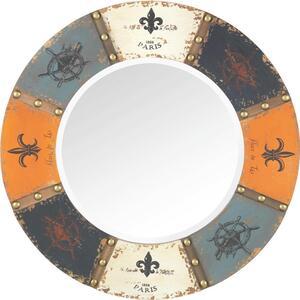 Spiegel in Multicolor Ø/H ca. 64x2,5 cm 'London'