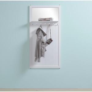 Garderobenpaneel in Weiß 'Madalena'
