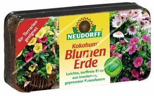 "Blumenerde ""Kokohum"", 1 Brikett Neudorff"