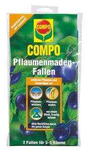 Pflaumenmadenfalle - Pheromonfalle mit Lockstoff gegen Maden, 2 St. Compo