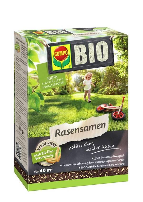 Bio Rasensamen - 800 g Compo