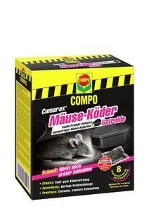 CUMARAX Mäuse-Köder Getreide und Köderbox - 80 g Compo