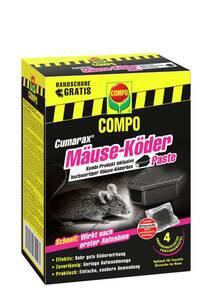 CUMARAX Mäuse-Köderpaste plus Köderbox - 40 g Compo