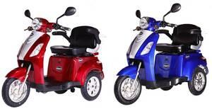 E-Trike 25V.2, verschiedene Farben Rolektro