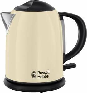 Wasserkocher Creme, 1 Liter, 2200 Watt  Russell Hobbs