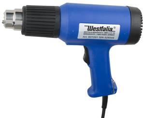 Heißluftpistole 1500 Watt inklusive Schrumpfschlauch Set, 15 teilig