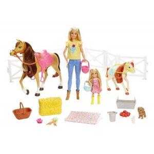 Barbie Reitspaß Puppe Pferd und Zubehör