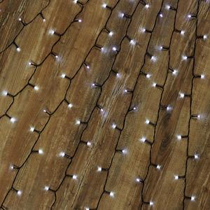 Baummantel-Lichterkette kaltweiß 400 LEDs außen