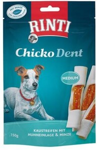 Rinti Hundesnack Chicko Dent Minze, medium ,  150 g