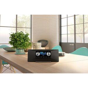 MEDION P85289 Stereo Internet Radio, 7,1cm (2,8'') TFT-Display, WLAN, DAB-/UKW-Empfänger, 2 x 6 W RMS