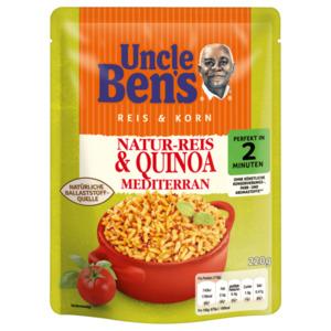 Uncle Ben's Reis & Korn Natur-Reis & Quinoa Mediterran