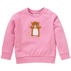 Baby Sweatshirt mit Hamster-Applikation