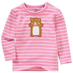 Baby Langarmshirt mit Hamster-Applikation