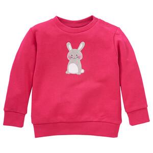 Baby Sweatshirt mit Hasen-Applikation