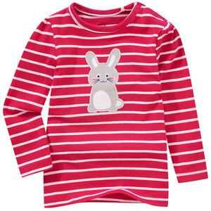 Baby Langarmshirt mit Hasen-Applikation