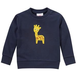 Baby Sweatshirt mit Giraffen-Applikation