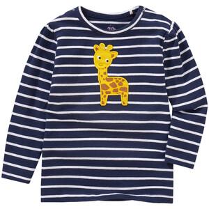 Baby Langarmshirt mit Giraffen-Applikation