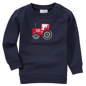Baby Sweatshirt mit Trecker-Applikation