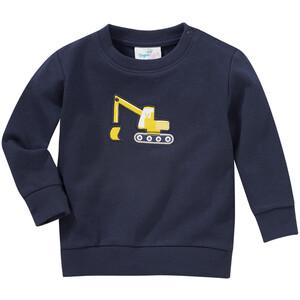 Baby Sweatshirt mit Bagger-Applikation