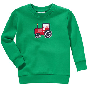 Baby Sweatshirt mit Trecker-Applikation
