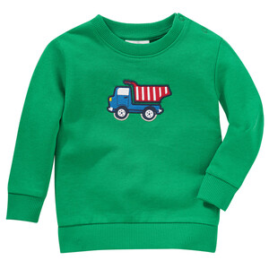 Baby Sweatshirt mit Kipper-Applikation
