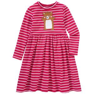 Mädchen Kleid mit Hamster-Applikation