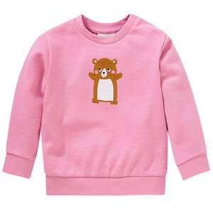 Mädchen Sweatshirt mit Hamster-Applikation