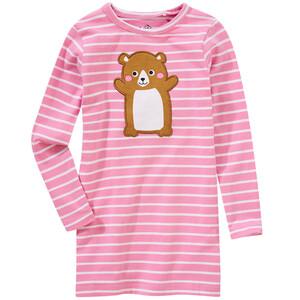 Mädchen Langarmshirt mit Hamster-Applikation