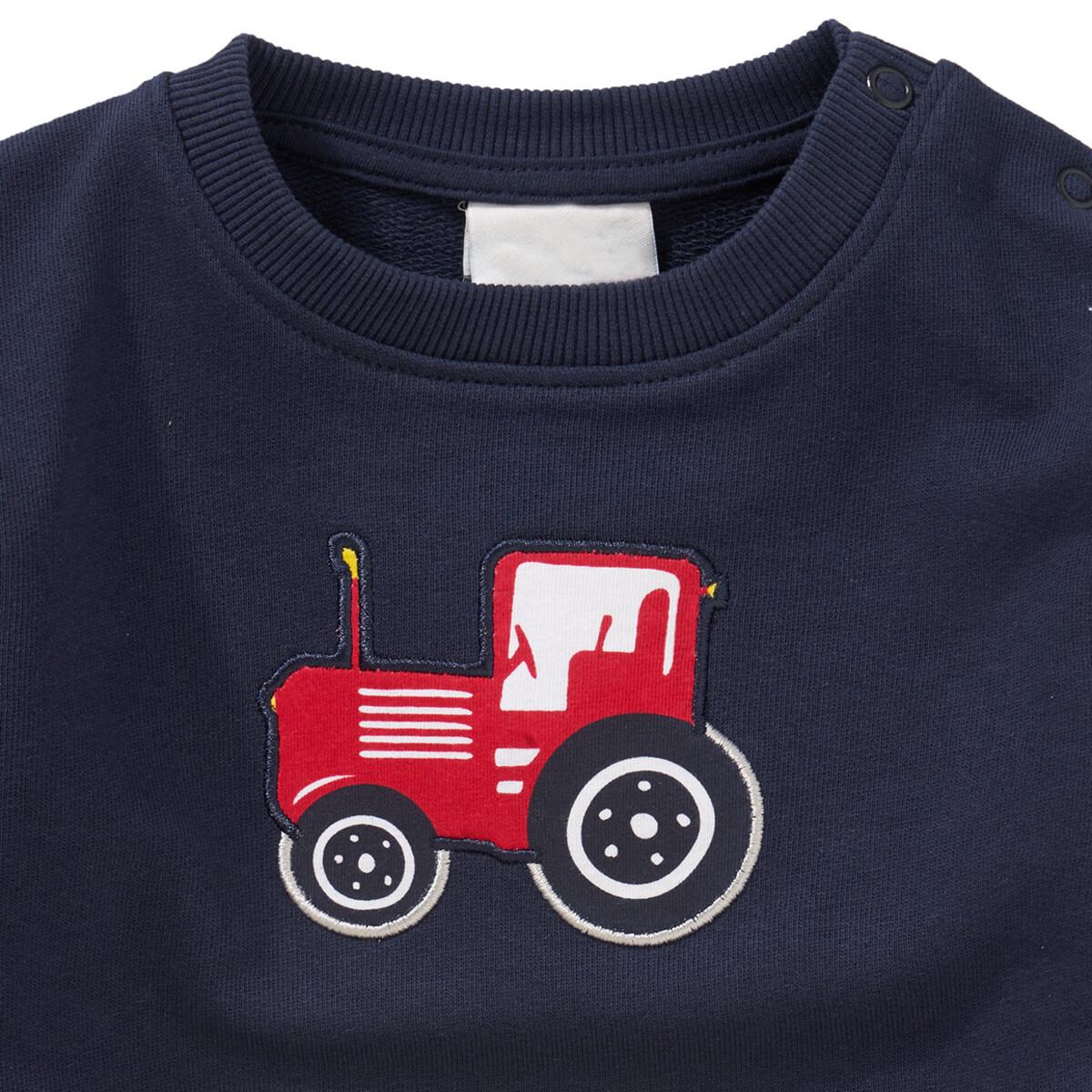 Bild 2 von Jungen Sweatshirt mit Trecker-Applikation