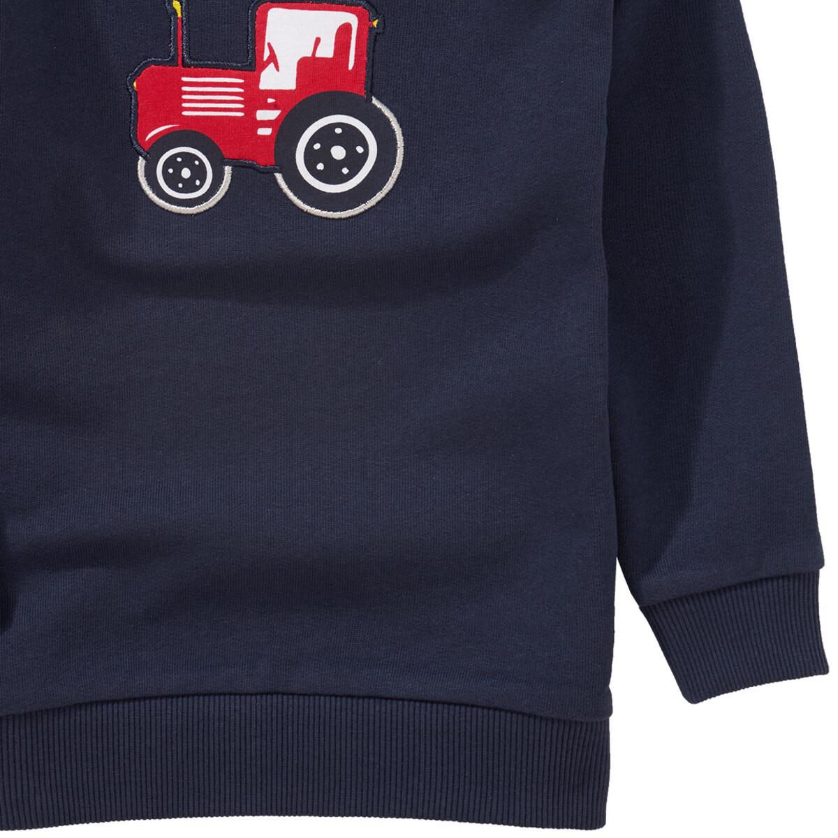 Bild 3 von Jungen Sweatshirt mit Trecker-Applikation