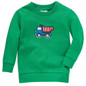 Jungen Sweatshirt mit Kipper-Applikation