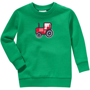 Jungen Sweatshirt mit Trecker-Applikation
