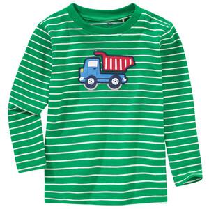 Jungen Langarmshirt mit Kipper-Applikation