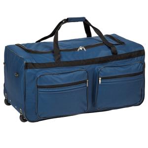 Reisetasche mit Rollen 160 Liter blau