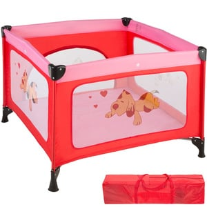 Baby Laufstall Tommy Junior pink