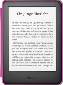 Kindle Kids Edition (2019) E-Book Reader schwarz/pink