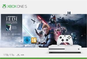 Xbox One S Konsole (1TB) inkl. Star Wars Jedi: Fallen Order