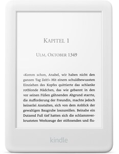 "Kindle 6"" WiFi (2019) E-Book Reader weiß"